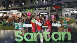 """ແອເອເຊຍ ຈັດເທດສະການອາຫານ """"santan food festiver""""  ບໍລິການເທິງເຮືອບິນ"""