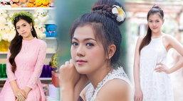 ນ້ອງ ພຸດທະສອນ ອີກໜຶ່ງສາວງາມໃນ Miss Grand Laos