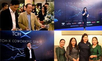 ງານເປີດໂຕ TOH-X Co-Working Space