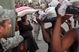 อาชญากรระบาดทั่วเฮติ ออกปล้นของบริจาค