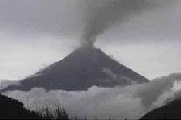 ชาวเอกวาดอร์อพยพหนีภูเขาไฟระเบิด