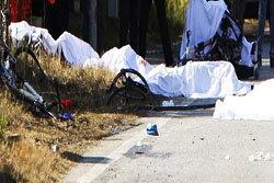 เละ! เมากัญชาขับซิ่งชนนักปั่นอิตาลีดับ 8 ศพ