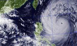 พายุไต้ฝุ่นอุซางิ ถล่มฮ่องกงคืนนี้ เที่ยวบินยกเลิกเพียบ