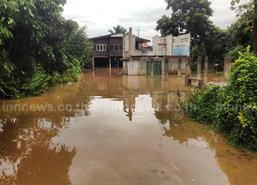 ฝนถล่มเชียงราย3วันน้ำลาวทะลักท่วมเวียงป่าเป้าจม
