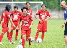 นักเตะสาวทีมชาติไทยขยับรั้ง31ของโลก
