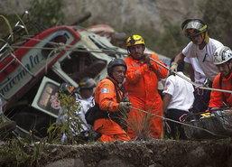 รถบัสชนรถบรรทุกแอฟริกาใต้ ตาย26