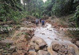 ผู้ว่าฯยะลา สั่งเตรียมรับมือน้ำป่า-ดินถล่ม