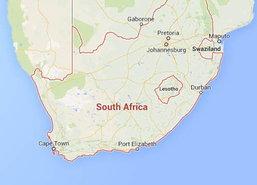 เครื่องบินไถลออกนอกรันเวย์ในแอฟริกาใต้ดับ3