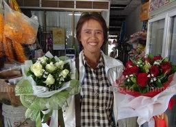 ร้านขายดอกไม้สตูลคึกเทศกาลวาเลนไทน์