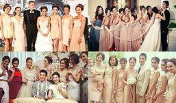ลำดับเหตุการณ์...เมื่อสาวๆแก๊งนางฟ้าแต่งงาน
