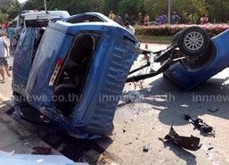 7 วันอันตราย สุพรรณบุรี ตายแล้ว 8 คน