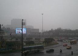 ฝนตกหลายจุด การจราจรช่วงเย็นสาหัส