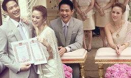 งานแต่งตู่ ภพธร สุดโรแมนติกกับแฟนสาว น้องนุช