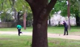 คลิปแฉชัดเจน ตร.มะกัน ยิงตามหลัง 8 นัดใส่ชายผิวสี