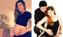 เจนนี่โชว์ท้องลูกสาว ก่อนคลอดในอีก 2 สัปดาห์
