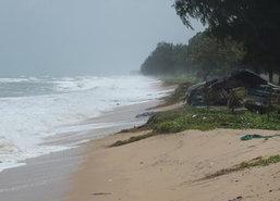 ปภ.เขต11เฝ้าระวังคลื่นลม-น้ำทะเลหนุนต่อเนื่อง