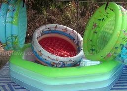 ชัยนาทร้อนสระยางขายดี-เตือนเด็กเล่นน้ำลำพัง