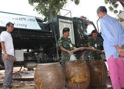 ทหารบูรพาพยัคฆ์ช่วยภัยแล้งปราจีนบุรี