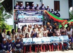 ทัพเรือภาคที่1มอบบ้านให้ผู้ประสบอุทกภัยชุมพร