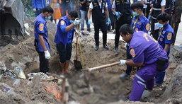 พบศพสามเณรปลื้ม ฝังดิน โบกปูนหลายชั้นใต้ดินลึก 1 เมตร