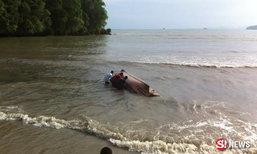 ระทึกซ้ำ คลื่นซัดเรือเที่ยวกระบี่ล่ม นาทีชีวิต นทท.ลอยคอ
