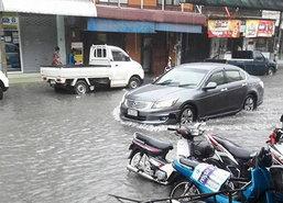 หล่มสักจมบาดาลหลังฝนกระหน่ำหลายชั่วโมง