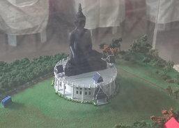 จันทบุรีทอดผ้าป่าจัดสร้างพระพุทธเมตตา