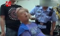 หลับเป็นตาย! หนุ่มจีนนั่งตัดผม ปลุกไม่ตื่นจนต้องส่งโรงพยาบาล