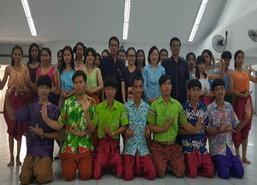 อาชีวะสุโขทัยนำการละเล่นไทยสอนนักเรียน