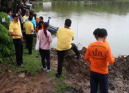 ผู้ว่าฯจันทบุรีนำทีมสำรวจทางน้ำรอบเขตเมือง