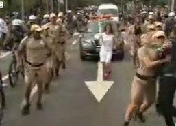 ตร.บราซิลรวบป่วนคบเพลิงโอลิมปิก1ราย