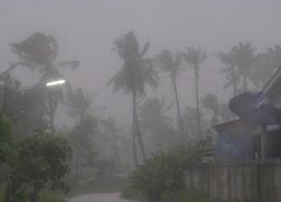 อุตุฯเตือนดีเปรสชั่นใต้ตอนบนฝนต่อเนื่อง-กทม.ตก40%