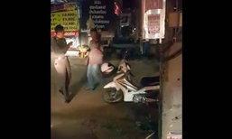 พลเมืองดีช่วยหนุ่มเมาขี่จยย.ล้ม กลับถูกใส่ร้ายขับชน