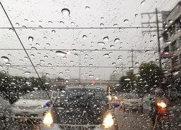 อุตุฯไทยตอนบนฝนตกต่อเนื่อง-กทม.ตก80%