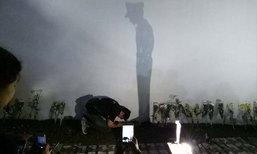 แชร์ว่อน! คนไทยผุดไอเดีย กราบถวายสักการะเงาในหลวง รัชกาลที่ 9