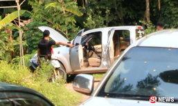 ปฏิบัติการระทึก! คนคลั่งกราดยิงสนั่นหมู่บ้าน ตำรวจล้อมวุ่น