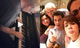 คิมเบอร์ลี่ โพสต์เศร้า คลิปคุณพ่อเล่นเปียโน