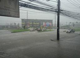ศูนย์อุตุฯใต้ตอ.ประกาศเตือนฉ.18ฝนตกหนัก