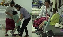 สุดสงสาร เด็กหญิง 5 ขวบถูกพ่อยิงขาพิการ หวังปาฏิหาริย์เดินได้อีกครั้ง