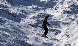 อีก83ปี หิมะบนเทือกเขาแอลป์  จะหายไปกว่า 70 เปอร์เซ็นต์