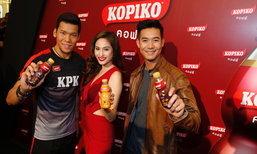 """โกปิโก้ จับสามขวัญใจคนไทย 'เวียร์ – ขวัญ – กวินทร์'  เปิดตัว """"โกปิโก้ คอฟฟี่"""""""