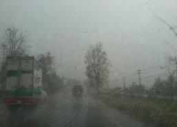 อุตุฯเผยเหนืออีสานตอ.กลางกทม.ฝนฟ้าคะนองใต้ตกหนัก