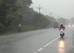 อุตุฯเตือนอีสานตอ.มีพายุฝนฟ้าคะนองใต้ตกหนักกทม.10%
