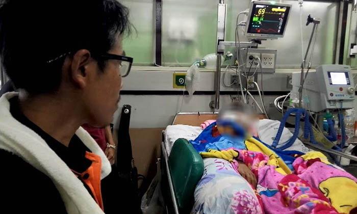 คืบหน้า เด็ก ม.4 ถูกตีด้วยไม้หน้าสาม อาการยังโคม่า! ตร. รวบรุ่นพี่โหดแล้ว