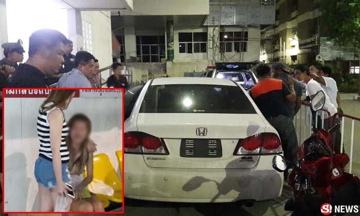 ตำรวจหนุ่มปืนลั่นดับคารถ ขณะแฟนสาวขับเข้าด่านตรวจ