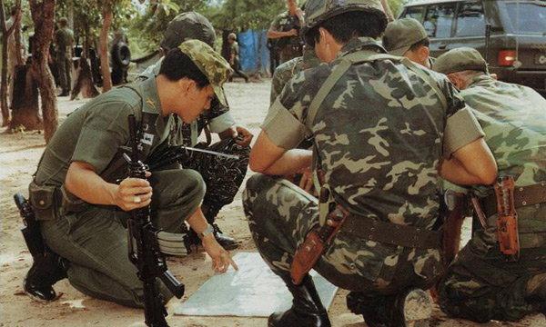 พระราชกรณียกิจ : ด้านทหาร