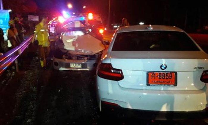 โหน่ง ชะชะช่า เผยลูกชายยังเสียขวัญ ขับ BMW ชนคนเสียชีวิต