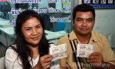 ชาวกุดแห่เฮง ถูกหวยรางวัลที่ 1 ห้าคนรวด รวยรับปีใหม่ ฟันเบาะๆ คนละ 6 ล้าน