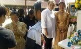 ว่าที่เจ้าสาวใส่ชุดไทยในงานเผาศพ แฟนหนุ่มดับก่อนวันวิวาห์