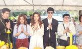 ชุ ชุดาภา-ก้อง ปิยะนำทีมนักแสดงบวงสรวงละครใหม่